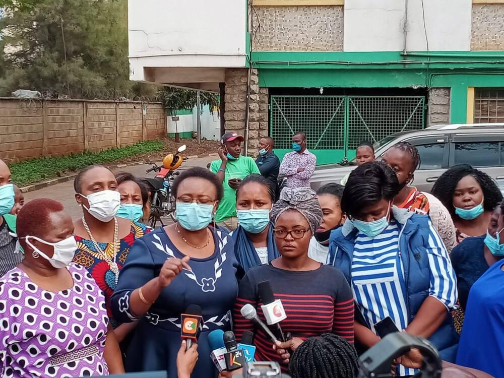 Gathoni Wamuchomba women leaders in calling out Pumwani Maternity Hospital over laxity