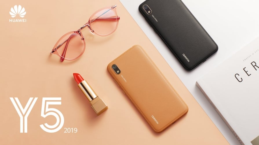 Win a brand new Huawei Y5 2019 by guessing devices' price