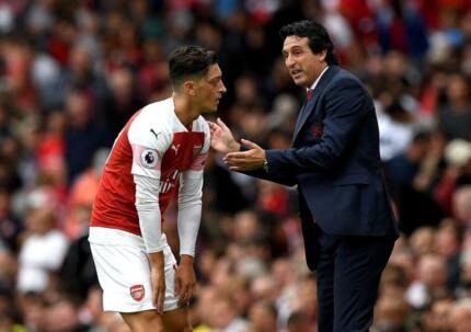Arsenal boss Unai Emery makes big statement about Mesut Ozil after West Ham's defeat