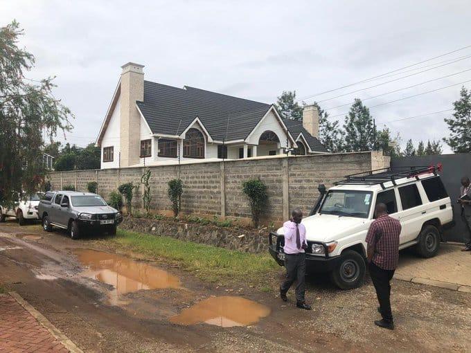 Rashid Echesa: Detectives raid ex-Cabinet secretary's home in Karen