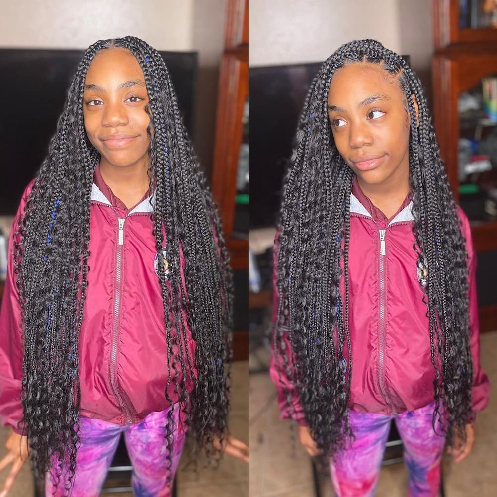 20 best knotless box braids hairstyles that you should ...