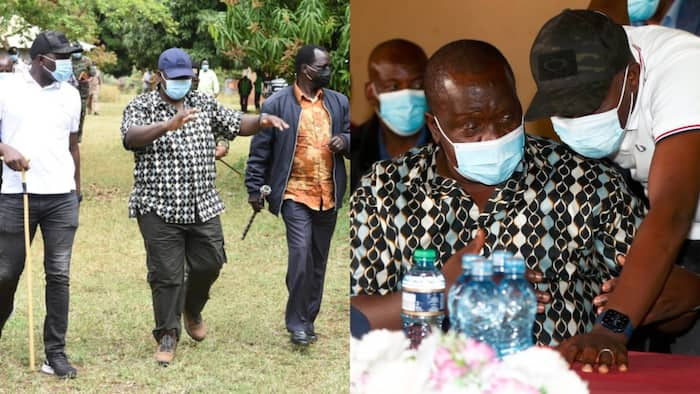 Elgeyo Marakwet: Kipchumba Murkomen Attends Interior CS Fred Matiang'i's Security Meeting
