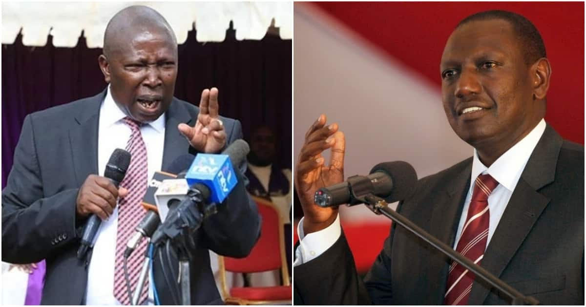 Image result for Ruto and maina kamanda