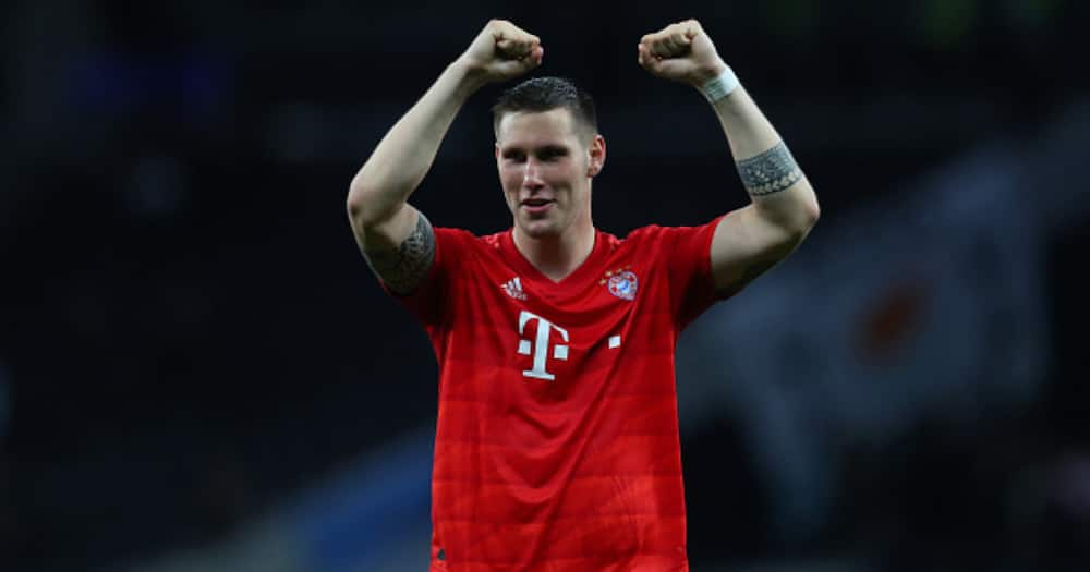 Niklas Sule while in action for Bayern. Photo by Catherine Ivill.