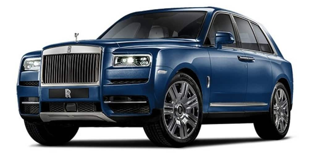 Diamond Platnumz has over seven luxury vehicles including a Rolls Royce and an Escalade.