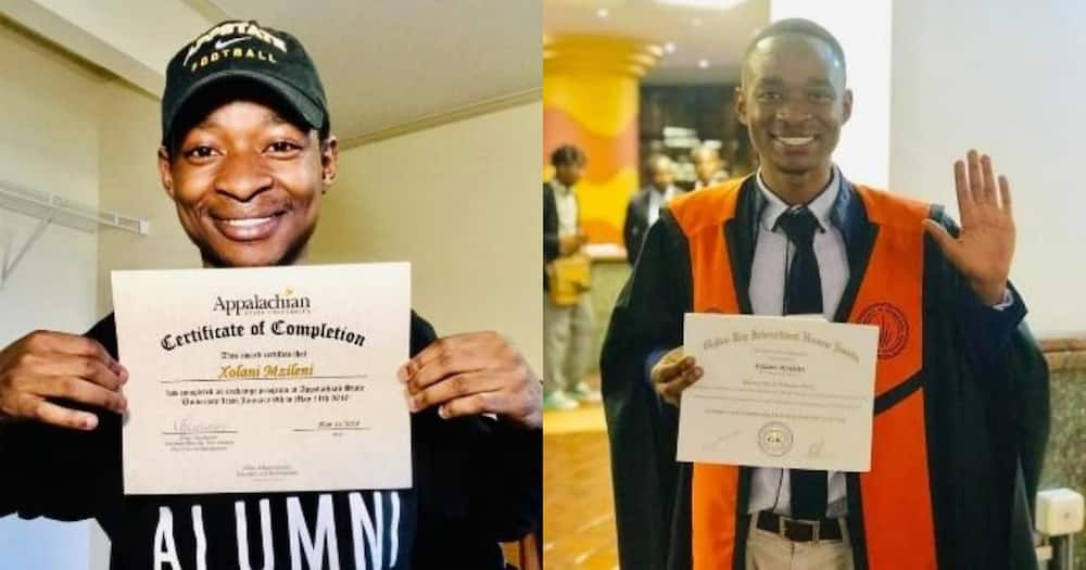 Man who failed in school graduates with 27 distinctions from varsity