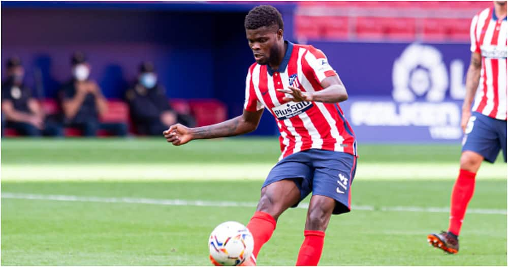 Thomas Partey says it will be difficult for Arsenal to win Premier League title this season
