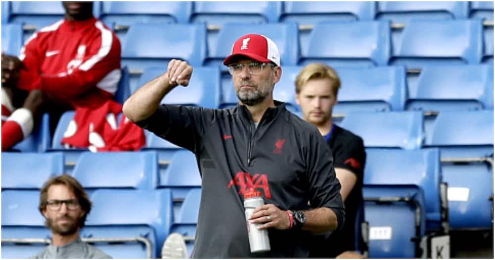 Jurgen Klopp in heated exchange with journalist after frustrating Brighton draw