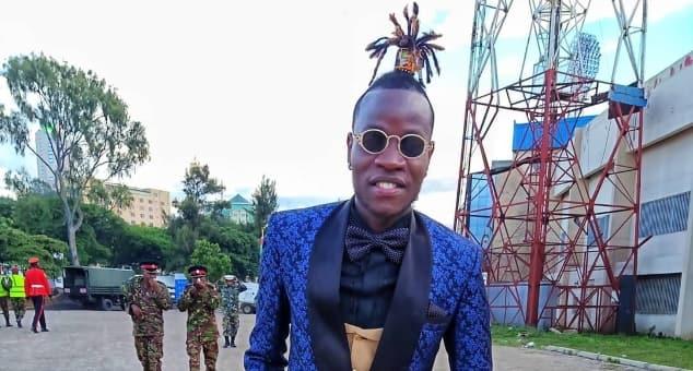 Gospel singer Guardian Angel amazed by the Gatanga police officer who praised his songs.