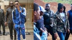Diamond Platnumz's Ex-Bodyguard Joins Nemesis Ali Kiba's Squad Years after Parting Ways with Bongo Star