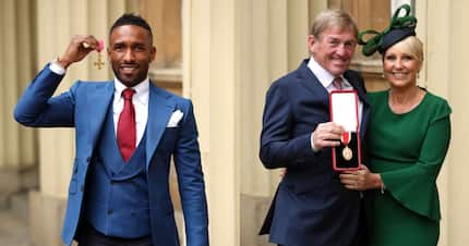 Liverpool Legend Kenny Dalglish knighted by Prince Charles