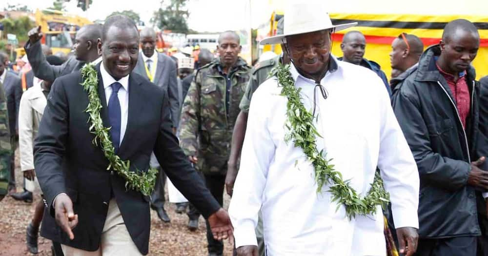 Deputy President William Ruto was blocked from flying to Uganda until the Head clears him of Public Service.