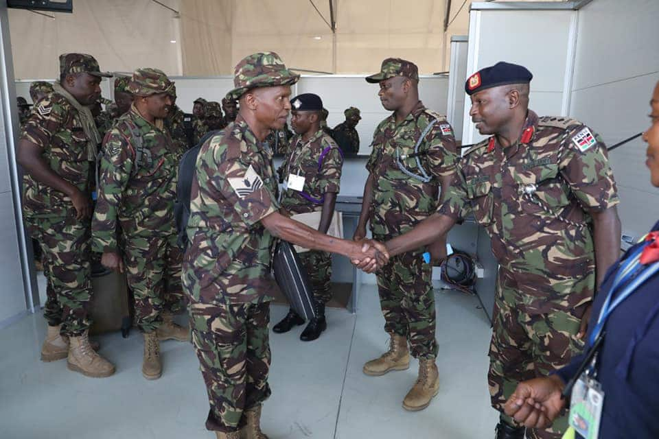Role of cadets in Kenya