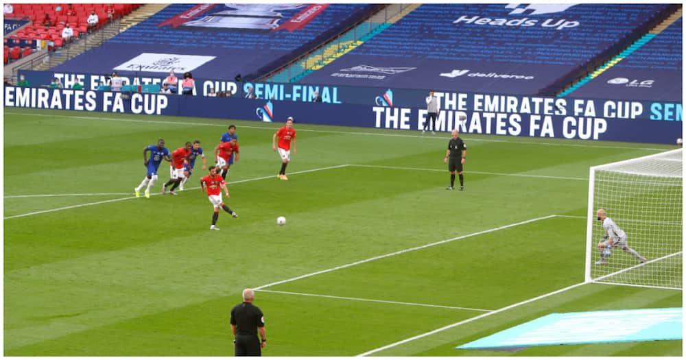 Man United vs Chelsea: Blues yapepeta United 3-1 nusu-fainali Kombe la FA