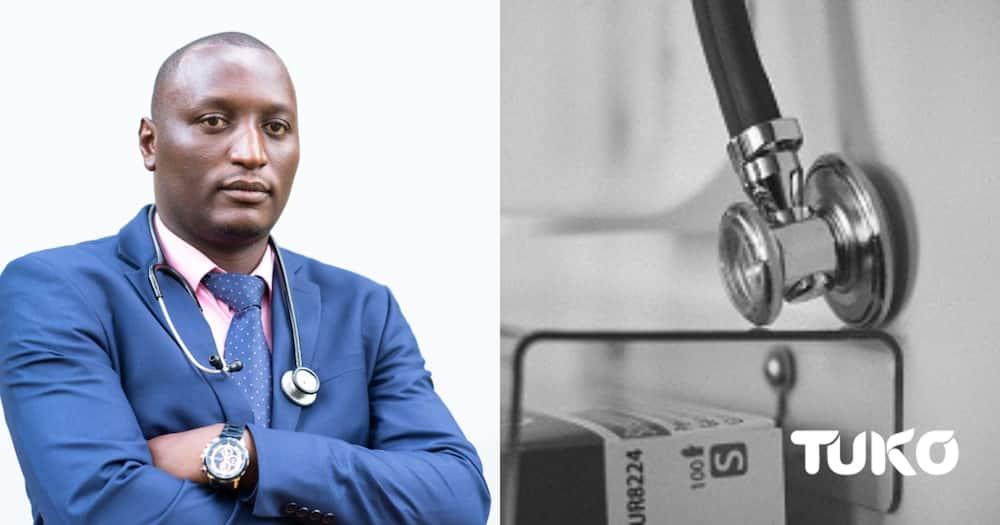 Dr Eugene Genga, a rheumatologist in Nairobi.