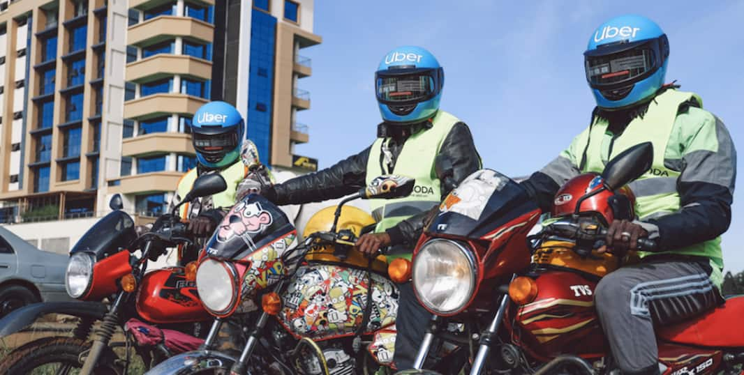 Taxi hailing firm Uber takes taxify head-on by launching boda boda service in Nairobi