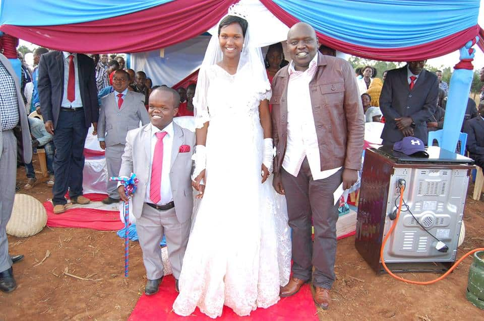 Kenya's arguably shortest MCA ties the knot in colourful ceremony