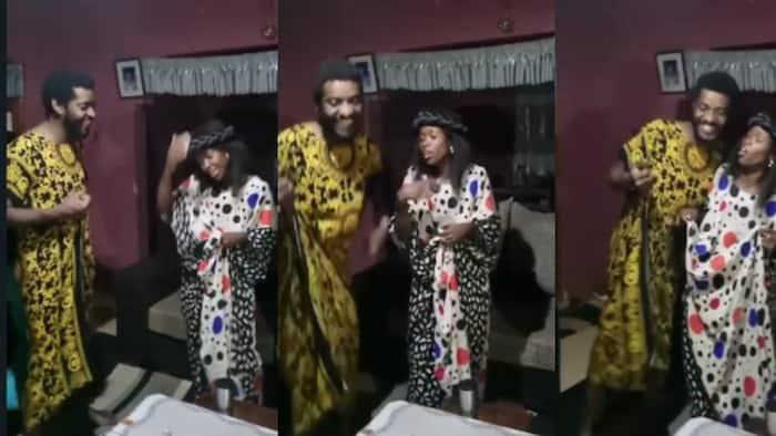 Papa Shirandula's Njoro Dresses in Dera, Joins Awinja, Mama Nyaguthii in Swahili Dance