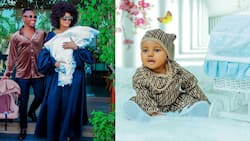 Tanzanian Actress Wolper Stylish Shows Off First Born Son's Face in Adorable Post