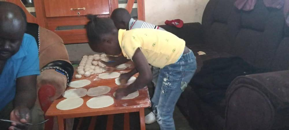 Female teacher, hubby excite Kenyans with video of themselves cooking chapo together