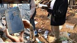Moto mkubwa wachoma nyumba kadhaa, Biblia yakosa kuungua