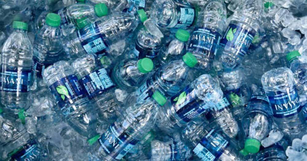 Kenyans in urban areas have been drinking bottled water in plenty.