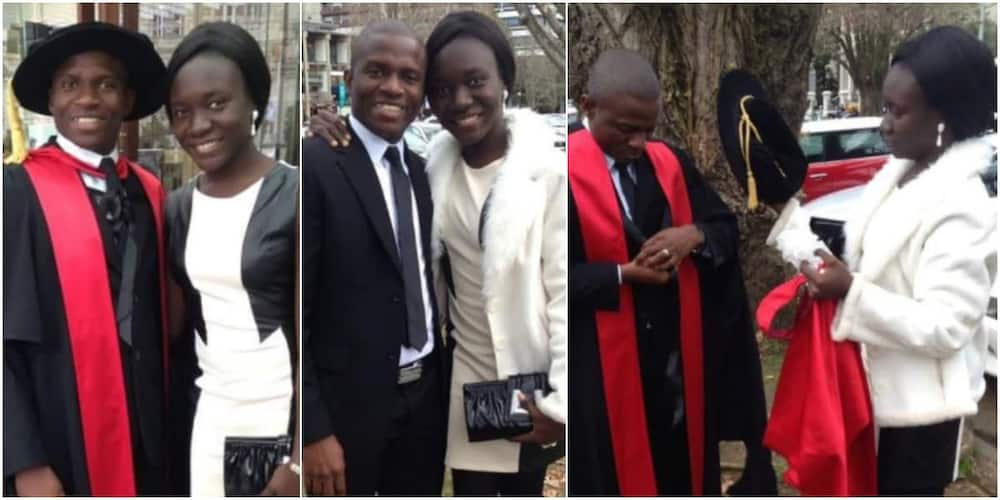 Dr Blessing Ekundayo and her hubby