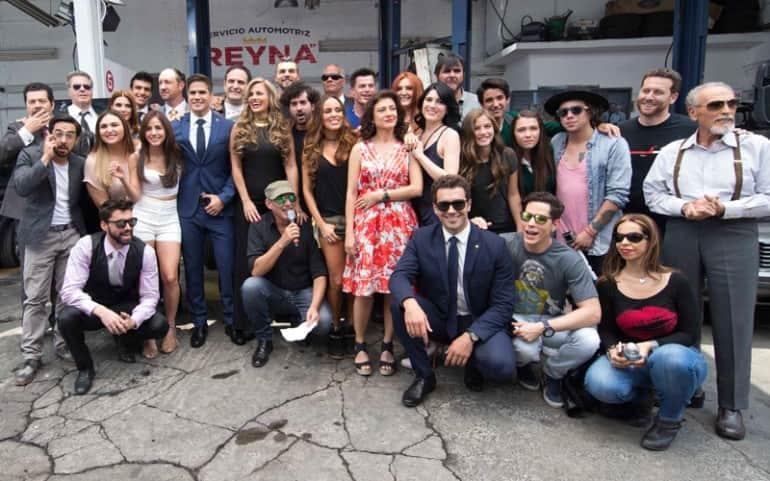 Waking Up with You Telenovela: cast
