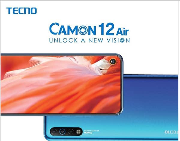 Tecno Camon 12 Air smartphone review and price in Kenya