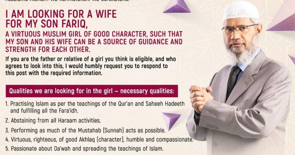 Zakir Naik is an Islamic preacher.