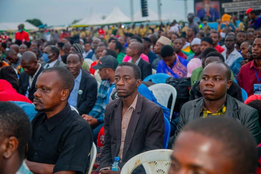 John Pombe Magufuli: 7 Emotional Photos from Late President's Burial Service