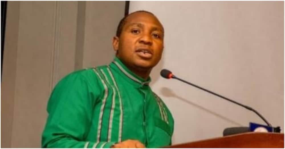 Jubilee nominated MP David Ole Sankok.