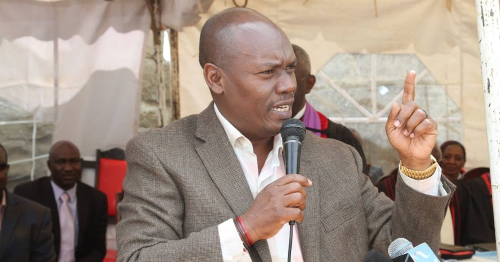 William Kabogo has maintained he must be on the presidential ballot in 2022.