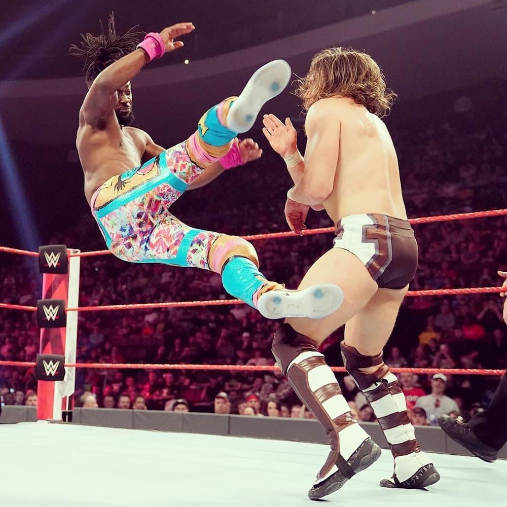 Kofi Kingston wrestling career