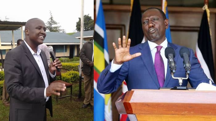 Alfred Keter says William Ruto no longer listens, takes advice from leaders