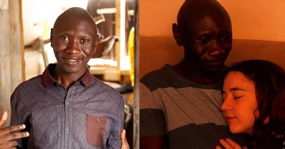 Msanii Stivo Simple Boy Apata Mapenzi ya Kidosho wa Kizungu