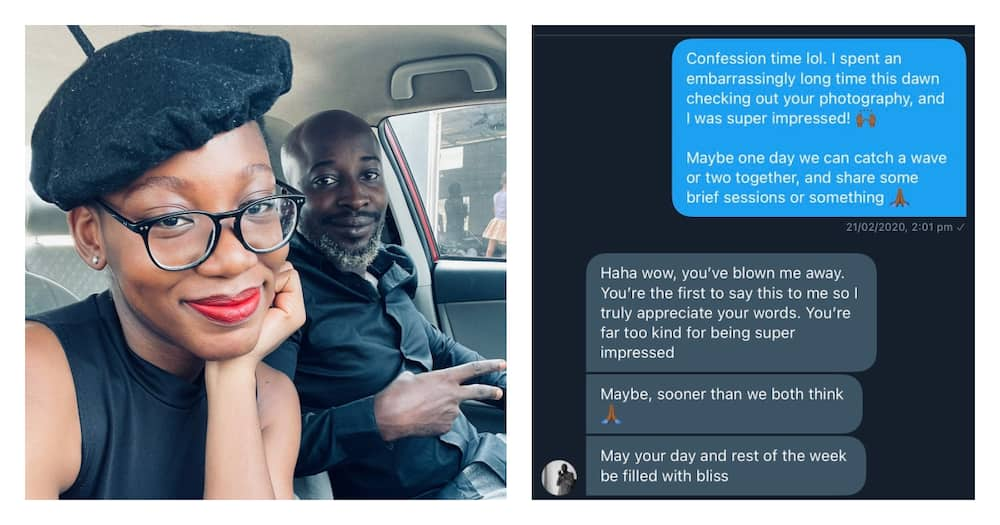 Shoot your shot: Lady shares first DM message she sent to man and made him to fall for her