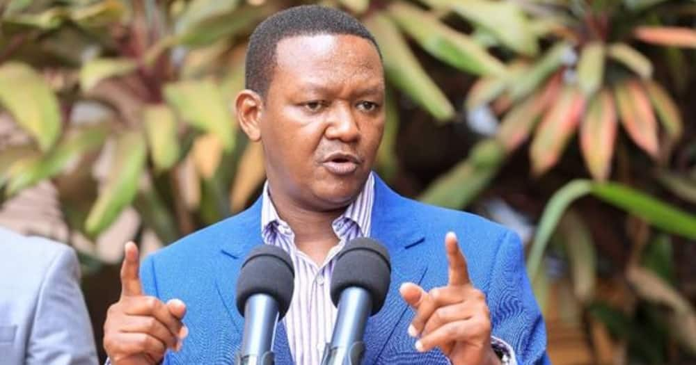 Alfred Mutua will hold a joint party with Rayvanny.