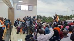 Jimi Wanjigi Pulls Huge Crowd in Bondo Town Day after Being Stoned in Migori