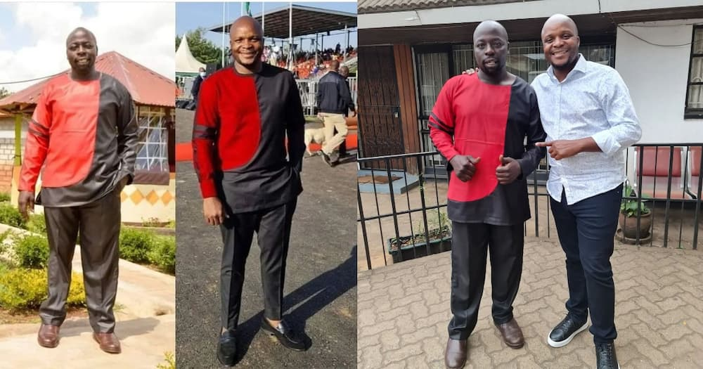 Jalang'o vows to work together with man who tried to dress like him.