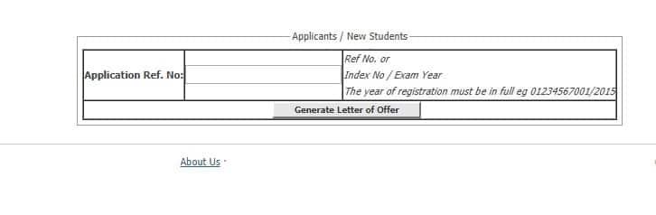 Mount Kenya University student portal