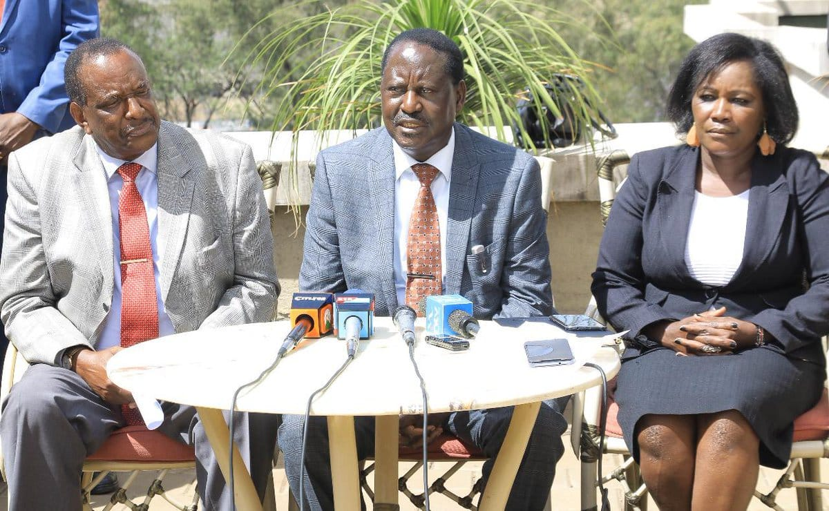I have not joined the Jubilee administration, I am still in Opposition - Raila Odinga