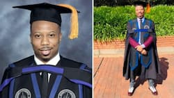 Man Who Deferred School Over Tuition Fee Celebrates Bagging Masters Degree