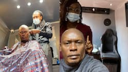 William Kabogo Praises Talented Personal Barber Who Operates in His Van, Offers Home Appointments