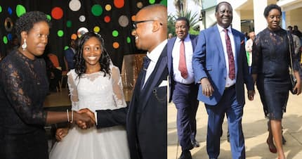 Rosemary Odinga steps out with father at glamorous wedding in Nairobi