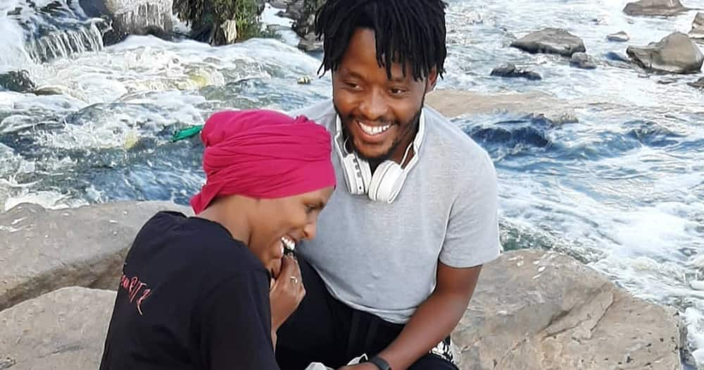 Love at first sight: Comedienne Nasra says she, Swahili boyfriend fell in love moment they met