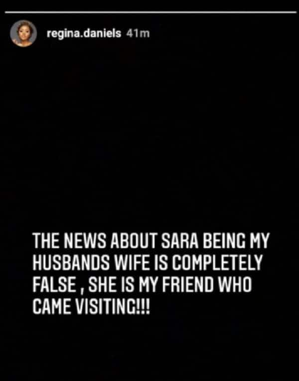 Regina Daniels reacts to rumors her billionaire husband is set to bring in another wife