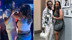 """Diana Marua Not Happy with Ladies Dancing Suggestively with Bahati: """"Excuse Me, Wifey Is in The Building"""""""