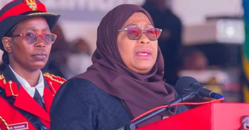 """Samia Suluhu discloses John Pombe Magufuli's last words to her: """"Don't worry"""""""
