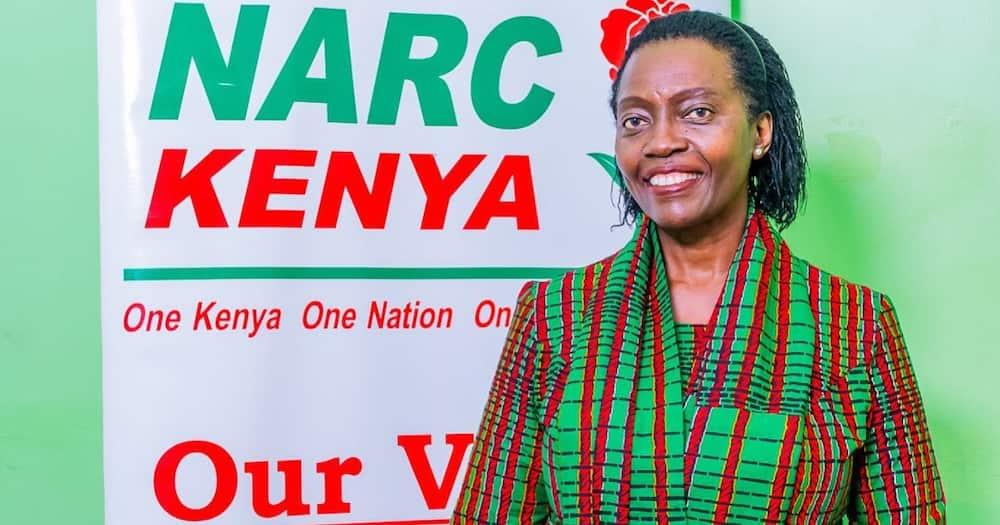 Martha Karua was named Mt Kenya Unity Forum spokesperson.